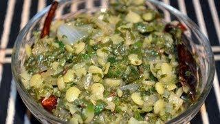 Palakoora Curry (spinach Stir Fry) Palak Curry - Indian Vegetarian Recipe