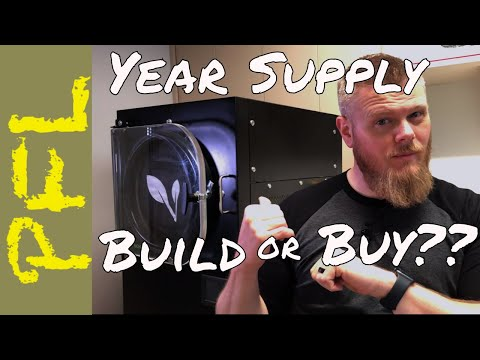 Home Freeze Dryer Vs Pre-Made Year Supply? Watch Before Buying
