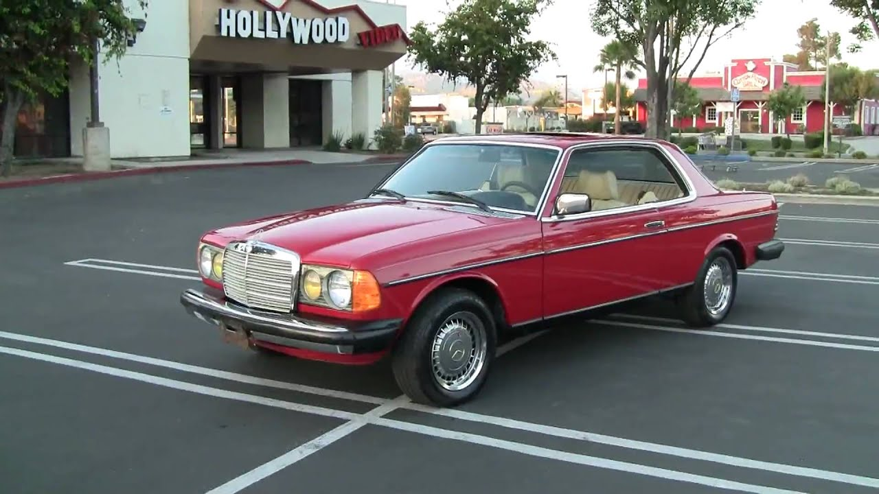 Cleanest 1980 mercedes benz 280ce 1 owner orig miles w123 for 1980s mercedes benz
