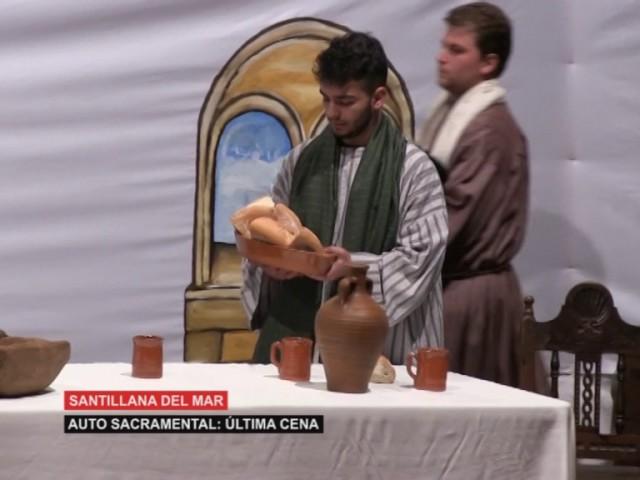 Auto Sacramental: Ultima cena santillana del Mar primera parte