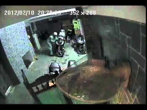 Trộm Xe SH một cách liều lĩnh tại nhà nghỉ dịp Valentine