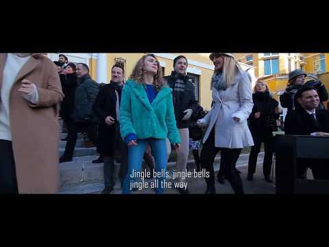 Jingle Bells - Venera and Lindi ft. U.S. Embassy Staff