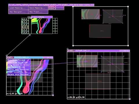 phdGIL - Projection Mapping software in Openframeworks