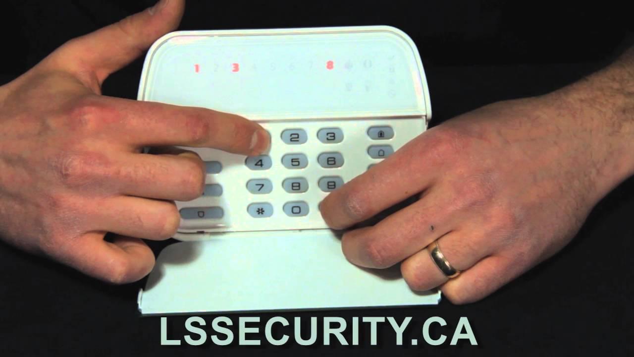 Trouble on DSC LED Keypad