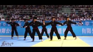 龙拳小子《龙拳舞 杰克逊版》Dragon Boys Dangerous MJ 2015 浙江大众跆拳道公开赛