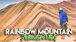 RAINBOW MOUNTAINS HIKE IN CUSCO PERU