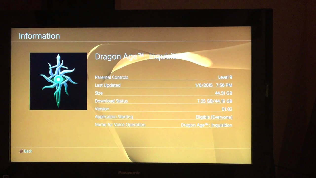 Constant error ce-34878-0 Solution  Very easy  Dragon age inquisition  (deluxe) ps4 fix