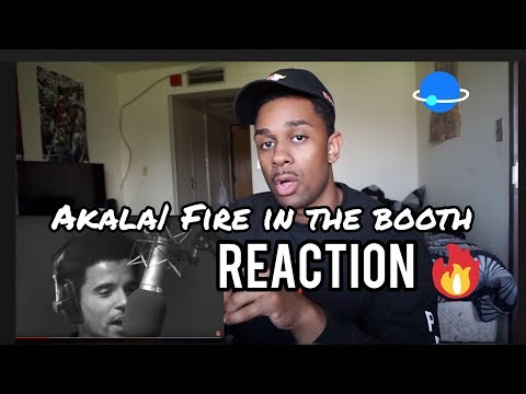UK RAPPER AKALA - FIRE IN THE BOOTH REACTION