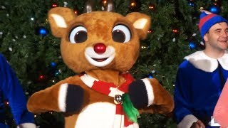 Rudolph's Happiest Christmas Tree Lighting Ceremony and performance at SeaWorld San Diego 2017