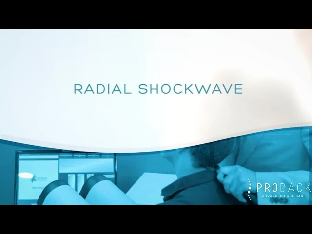 Radial Shockwave Therapy at Proback Clinics