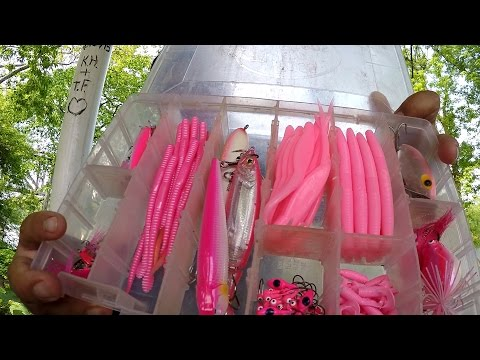 The Pink Challenge: Catching Fish on Pink Lures! (Norristown, PA)