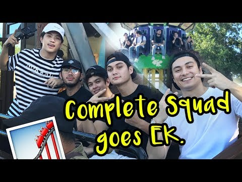 The Complete Squad Goes To Enchanted Kingdom (ft. Ranz Kyle, Jack Reid, Patrik Franksson..)