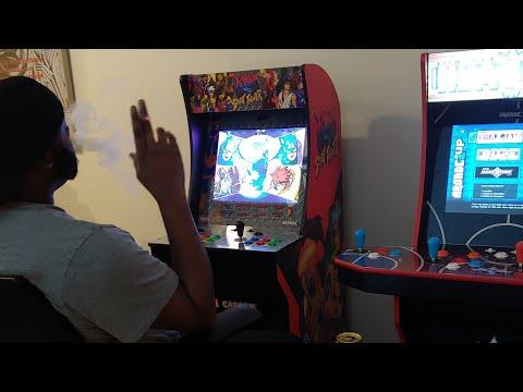 X-Men VS Street Fighter/Marvel VS Capcom, (Arcade 1Up) Friday Night Fights #7 Online Play from Footie Laughs