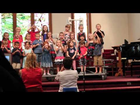My God Is So Big - Calvary Weekday School Spring 2013