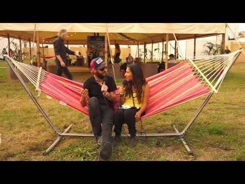 Band of Horses - Sarah's Interview - Rock en Seine Festival
