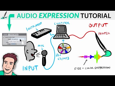 These Brushes React to Sound! - Audio Expression Brushes Tutorial thumbnail