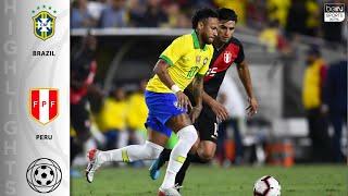 Brazil 0 - 1 Peru - HIGHLIGHTS AND GOALS - 9/11/19