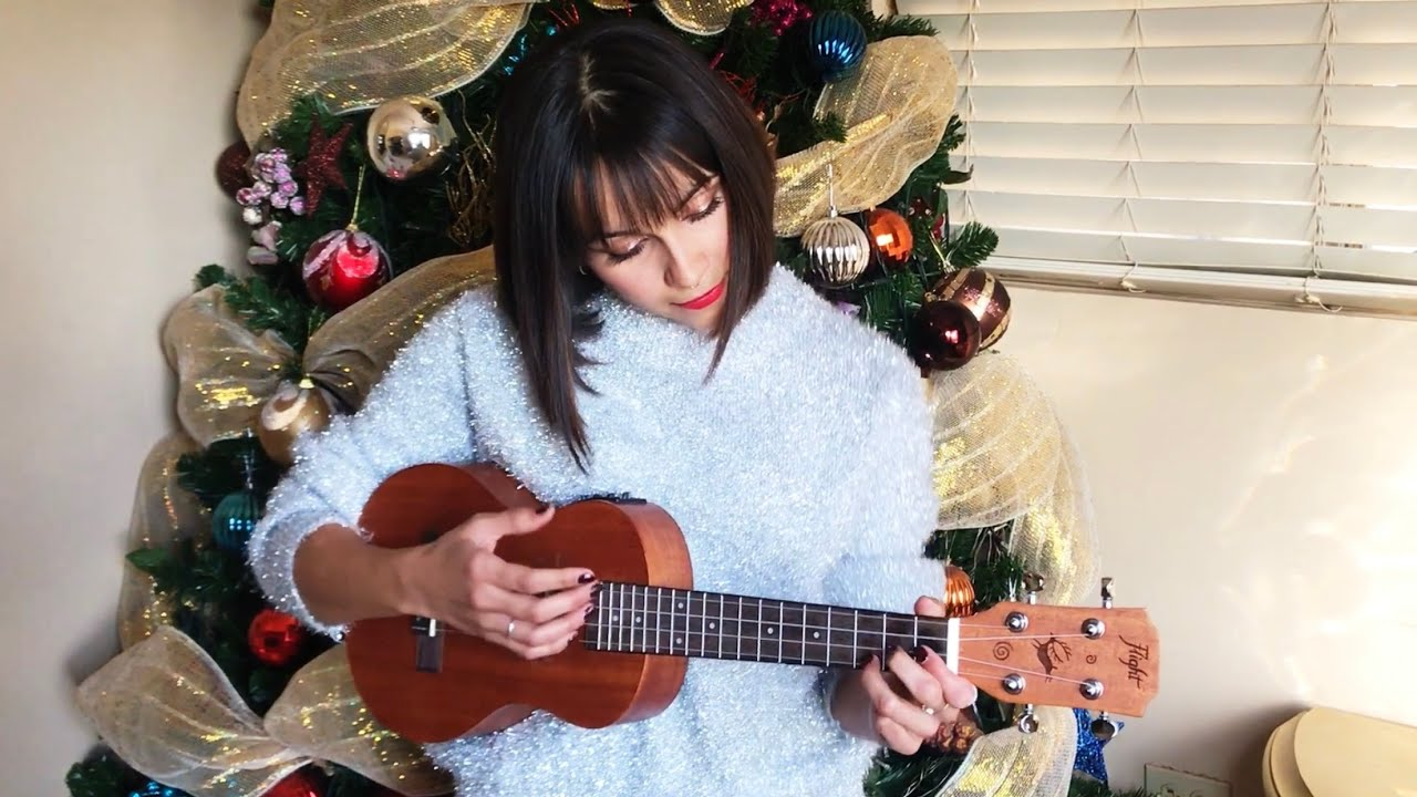 All i want for christmas is you ukulele cover youtube all i want for christmas is you ukulele cover hexwebz Image collections