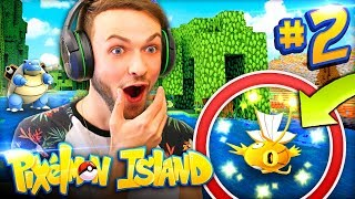 OMG - I FOUND THE FIRST *SHINY*! - Pixelmon Island #2 w/ Ali-A
