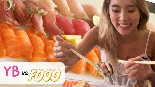 ALL YOU CAN EAT SUSHI · YB vs. Food
