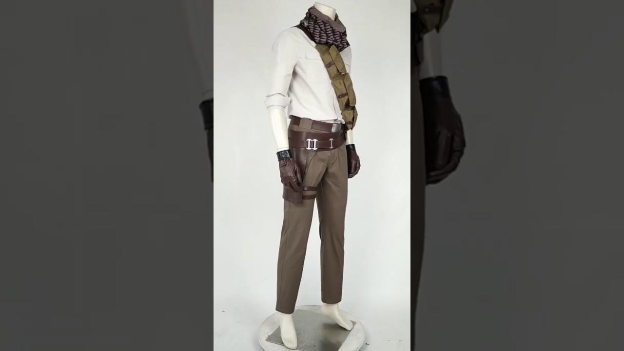 Poe Dameron Costume Cosplay Suit Star Wars 9 The Rise of Skywalker Full Set