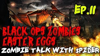 Treyarch Easter Eggs: From Ascension to Revelations! (Zombie Talk with Spider Ep.11)