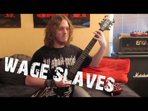 All Shall Perish - Wage Slaves (HD Guitar Cover)
