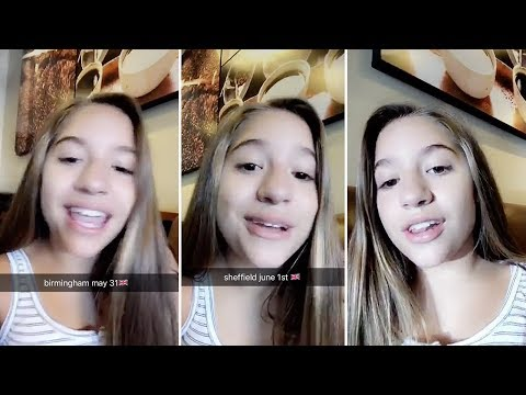 Mackenzie Ziegler Announces New UK Tour Dates After Concerts SELL OUT Mp3