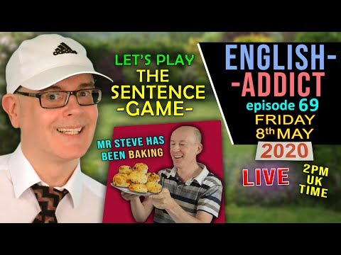 ??Hello World - English Addict 69 / FRIDAY 8th May 2020 / LIVE from England / Learn with Mr Duncan