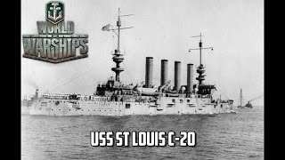 World of Warships - USS St. Louis C-20