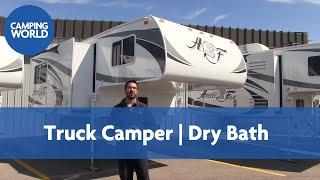 2017 Arctic Fox 1140    Truck Camper   Elegant Truffle - RV Review