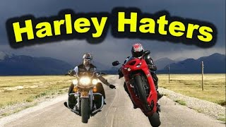 Harley Haters - Douchebags Ride All Kinds of Motorcycles