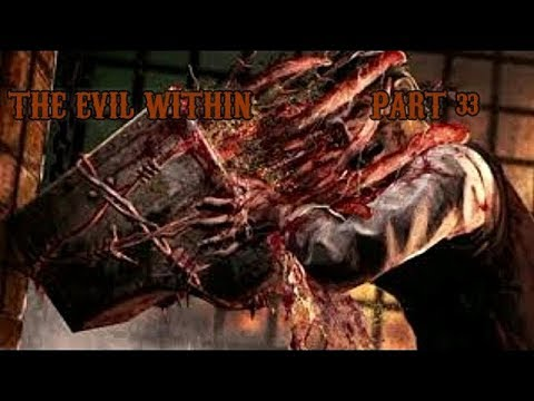 The Evil Within Gameplay Walkthrough Part 33 (XBOX ONE) (Chasing Joseph/Meat Locker/Keeper)