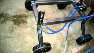 pneumatic 4 wheel jack mechanical engineering project topics