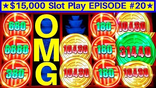NEW!! Rising Fortunes Slot HUGE WIN w/$8.80 Max Bet | EPISODE-20 | Live Slot Play w/NG Slot