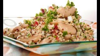 Ensalada de quinoa y bulgur con judiones - Bruno Oteiza