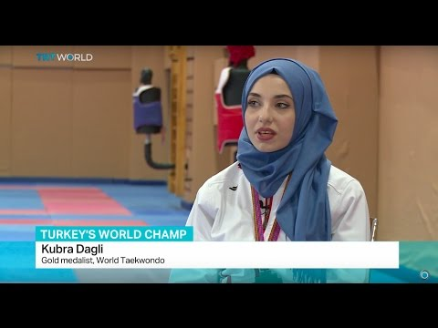 Turkey's Taekwondo Champ: Athlete in hijab wins gold at world meet