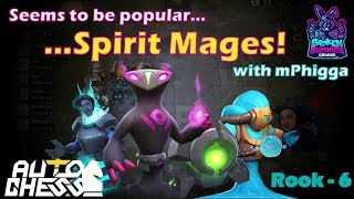 A popular Auto Chess build... Spirit Mages!!