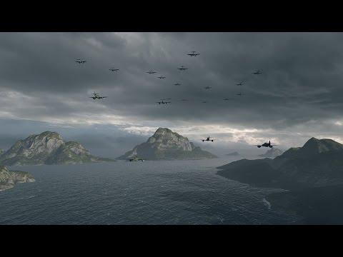 World Of Warships - IJN Carrier Hakuryu : Fleet vs. Fleet
