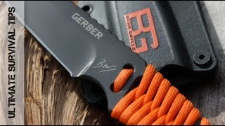 NEW! Gerber Bear Grylls Ultimate Paracord Knife -Review- Best Paracord Knife for Survival? 31-001683