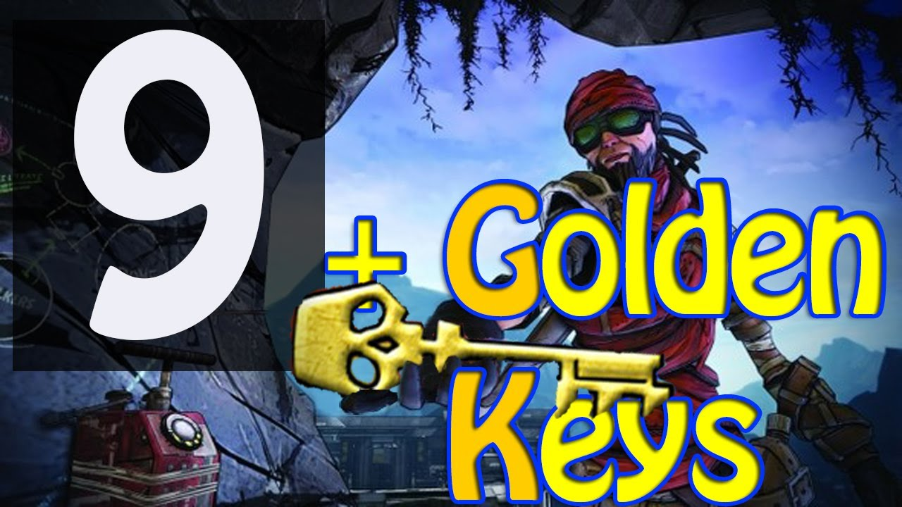 9 GOLDEN KEY 3x sets of SHIFT CODES Borderlands 2 PS3, 360, Mac, PC Free  Golden Key Aug 26 2013