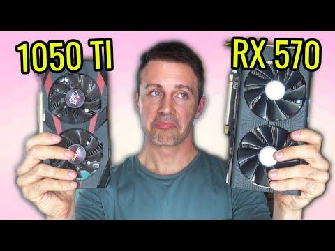 Should you Buy a RX 570 4GB Vs. GTX 1050 Ti in Early 2021....?