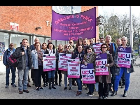 Defend Our Pensions! UK UCU Liverpool President Jo McNeill On The Fight  & UCU National Strike