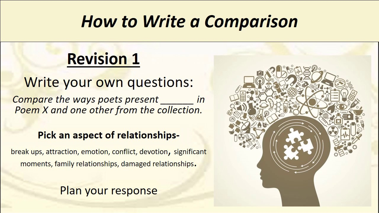 poetry revision how to write the essay  poetry revision how to write the essay