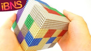 Download Playing with 10000 mini magnetic balls! (Oddly Satisfying, ASMR & 10000 buckyballs!) Mp3 and Videos