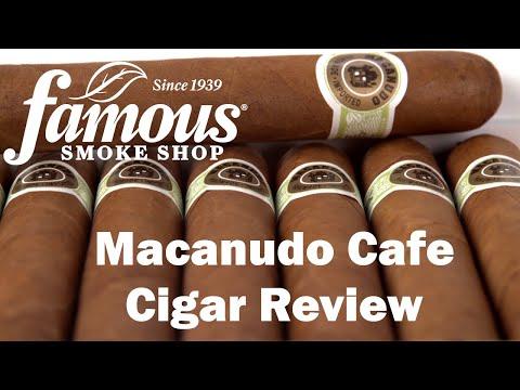 Macanudo Cafe Cigars Review - Famous Smoke Shop