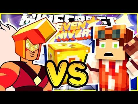 Me vs Jasper 1 on 1!! • Steven Universe Lucky Block Challenge! • Minecraft