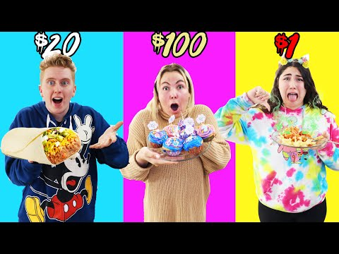 $1 vs $500 COOKING challenge!