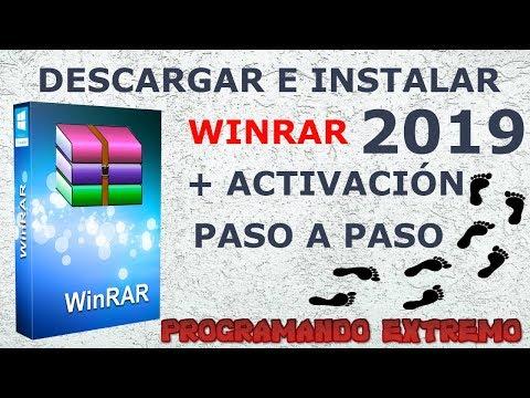 DESCARGAR WiNRaR FULL 2019 + ACTIVADOR WINDOWS 10/8.1/8/7 | 32 Y 64 BITS