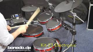 Alesis Crimson E-Drum Kit Sound Demo (no talking)